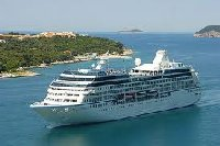 Cruise ship in Asia