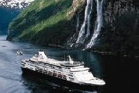 Cruise Ship in Northern Europe