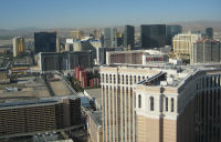 Skyline View of Las Vegas